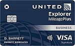 United<sup>SM</sup> Explorer Business Card 开卡最高赢10万迈
