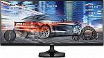 LG 25UM58-P 25-Inch 21:9 UltraWide IPS Monitor with Screen Split $134