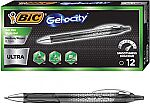 12-count BIC Gel-ocity Ultra Retractable Gel Pen Free After Rebate