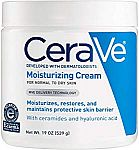 2-Pack 19oz CeraVe Daily Face and Body Moisturizing Cream $22 or Less
