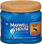 26.8-oz Maxwell House Master Blend Ground Coffee (Light Roast) $4.46 or Less