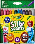 12-Count Crayola Silly Scents Twistables Crayons $2.60