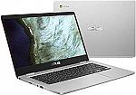 """Asus Chromebook C423NA (14"""" HD, Celeron N3350, 4GB, 64GB) $199"""
