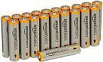 20 AmazonBasics AAA 1.5 Volt Performance Alkaline Batteries $4.22