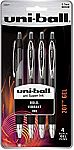 4-Pack Uni-Ball Signo Gel 207 Retractable Medium Point Pens $2.29 + FS