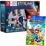 Nintendo Switch - Mario + Rabbids Kingdom Battle and Starlink: Battle for Atlas Starter Pack featuring Star Fox $30