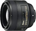 Nikon AF S NIKKOR 85mm f/1.8G Fixed Lens with Auto Focus for Nikon DSLR Cameras $379