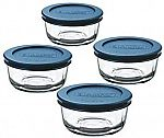 4-Pack 1 Cup Anchor Hocking Classic Glass Food Storage Containers with Lids $6.96 (65% Off)