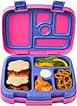 Bentgo Kids Brights – Leak-Proof, 5-Compartment Bento-Style Kids Lunch Box $18 and more