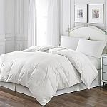 Blue Ridge White Goose Feather Comforter and Quilted Pillow Set, 2 pillows (Various Sizes) $59.98