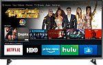 "Insignia 55"" LED Smart 4K HDR Fire TV + Amazon Echo Dot $300"