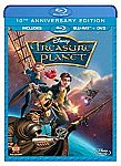 Disney Treasure Planet: 10th Anniversary Edition (Blu-ray + DVD) $6.46