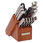 Sabatier 15-Piece Stainless Steel Hollow Handle Knife Block Set $45.80 (Org $89)+ Free Shipping