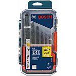 Bosch 14-Piece Set Black Oxide Coated HSS Twist Drill Bit Set $8.98 YMMV