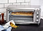 Black & Decker 8-Slice Air Fryer Toaster Oven Stainless Steel $50