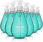 6-Pk of 12-oz Method Gel Hand Soap $12 or Less