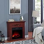 Bold Flame 28 inch Electric Fireplace Heater $89 & More