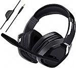 AmazonBasics Pro Gaming Headset - Black $8.82