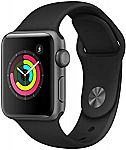 Apple Watch Series 3 (GPS, 38mm) - Black Band $199