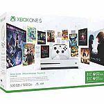Microsoft - Xbox One S 500GB Starter Bundle $149.99