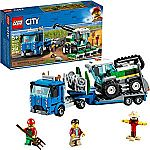 LEGO City Great Vehicles Harvester Transport 60223 $17 (43% Off) & More