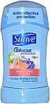 Suave Sweet Pea and Violet Antiperspirant Deodorant, 1.4 oz 0.80