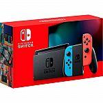 Nintendo Switch Console version 2 Neon Red & Blue Joy-Con $267.70