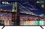"TCL 75R617 75"" 4K Ultra HD Roku Smart LED TV (2019 Model) $1152"