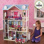 KidKraft My Dreamy Dollhouse with Furniture $75.23 (Org $147)