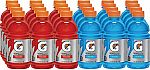 24-Pack 12oz. Gatorade Fruit Punch and Cool Blue Variety Pack $7.71