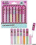 7-Count  L.O.L SURPRISE Flavored Lip Gloss Wands $4