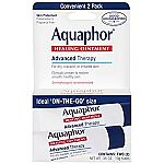 2-Ct 0.35 oz. Aquaphor Healing Skin Ointment $3.55