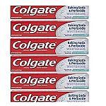 6-pack Colgate Baking Soda and Peroxide Whitening Toothpaste, Frosty Mint $8.44