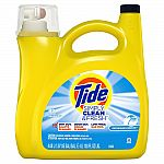 Tide Simply Clean and Fresh 138 oz. Laundry Detergent $3