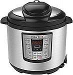Instant Pot LUX60V3 V3 6 Qt 6-in-1 Multi-Use Programmable Pressure Cooker $49