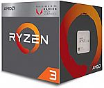 AMD Ryzen 3 2200G Processor with Radeon Vega 8 Graphics $60 (Reg. $100)