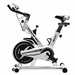NexHT Fitness Sport Exercise Bike with LCD Display and Heart Pulse Sensors $129.99