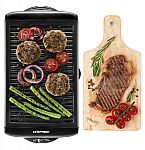 Chefman Electric Smokeless Indoor Grill w/ Non-Stick Cooking Surface $19.74