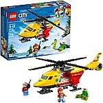 LEGO City Ambulance Helicopter 60179 Building Kit $10 (50% Off)