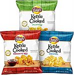 40-Count Lay's Kettle Cooked Potato Chips Variety Pack $9 or Less