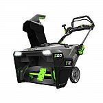 EGO Reconditioned 21 in. 56V Li-Ion Cordless Single Stage Electric Snow Blower + 2 x 5.0Ah Battery $419