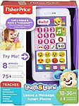 Fisher-Price Laugh & Learn Leave a Message Smart Phone $7.49 (50% Off)