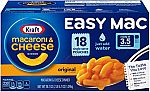 (Today Only) Snack Sale: 18-count Kraft Easy Mac Microwavable Macaroni & Cheese $3.80 & More