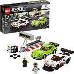 LEGO Speed Champions Porsche 911 RSR and 911 Turbo 3.0 75888 Building Kit (391 Piece) $20 (org $30)