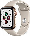 Apple Watch Series 5 (GPS + Cellular, 44mm) $699 ($50 off)