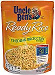 6Pk Uncle Ben's Ready Rice: Cheddar Broccoli Rice 3.38