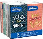 Kleenex Trusted Care Facial Tissues, 8 On-The-Go Travel Packs $2.28 + Get $1 No Rush credit