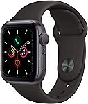 Apple Watch Series 5 (GPS, 40mm) Space Gray $385, 44mm $415