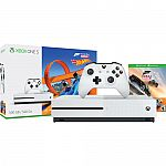 Microsoft Xbox One S 500GB Console Forza Horizon 3 Hot Wheels Bundle + Madden NFL 20 + BATTLEGROUNDS & More $200