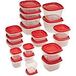 Rubbermaid 40-Pc Easy Find Lids With Vents Food Storage Container $5.88